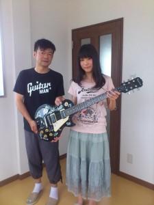 #007 ギター寄贈