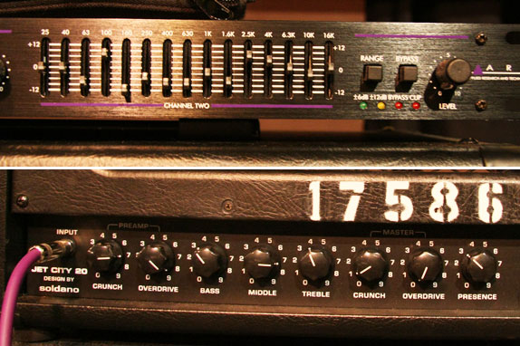 ART's 341 Dual Channel 15 band graphic equalizer