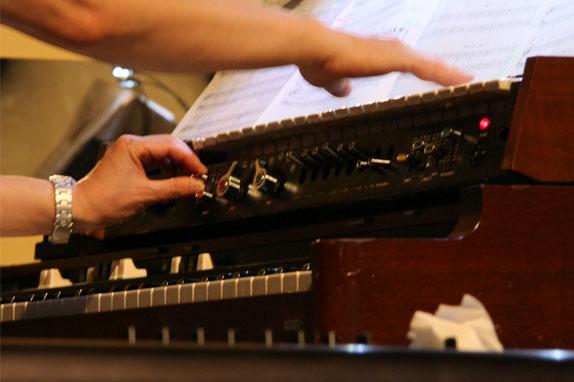 難波弘之 鍵盤