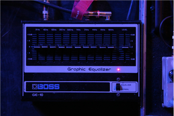 北島健二 BOSS GE-10 Graphic Equalizer