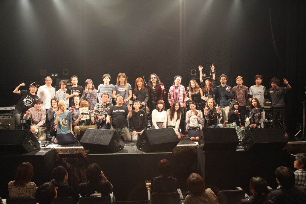 Guitar☆Man LIVE #019 2部 記念写真