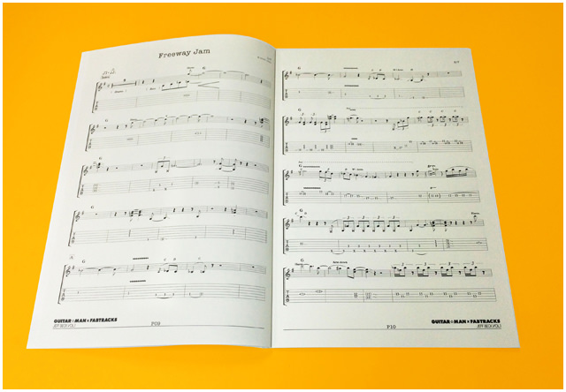 Guitar☆Man × Fabtracks Jeff Beck Vol.1 A4 ブックレット