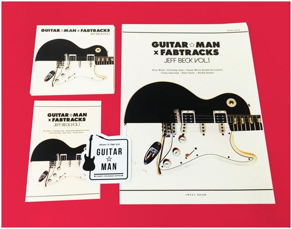 Guitar☆Man × Fabtracks Jeff Beck Vol.1 初回特典